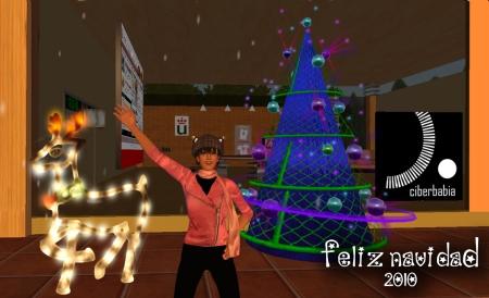 Teresa dice ¡Feliz Navidad 2010 desde Ciberbabia!